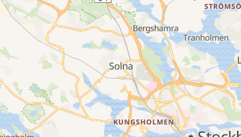Solna online map