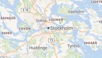 Stockholm online map