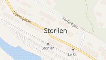 Storlien online map