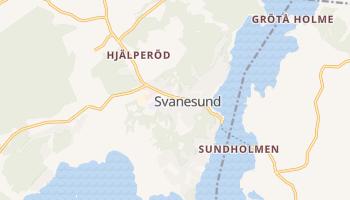 Svanesund online map