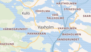 Vaxholm online map