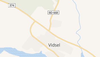 Vidsel online map