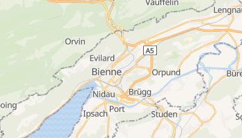 Bienne online map