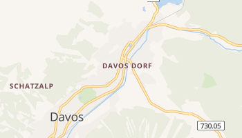 Davos online map