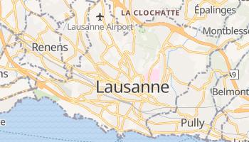 Lausanne online map