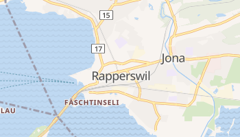 Rapperswil online map
