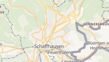 Schaffhausen online map
