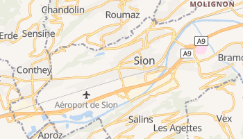 Sion online map