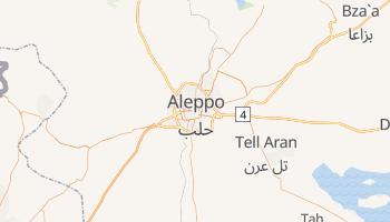 Aleppo online map
