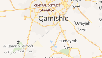 Qamishly online map
