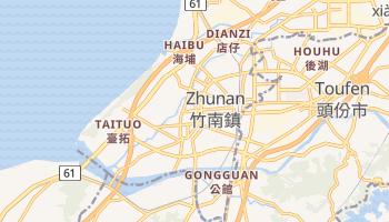 Chu-nan online map