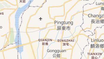 P'ing-tung online map