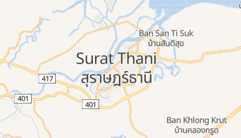 Surat Thani online map