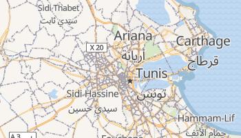 Tunis online map