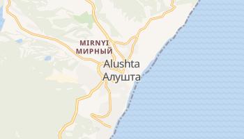 Alushta online map