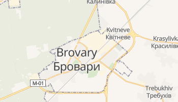 Brovary online map