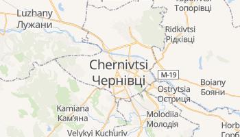 Chernivtsi online map