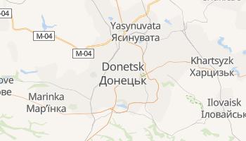 Donetsk online map