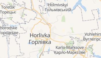 Gorlovka online map