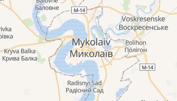 Nikolaev online map