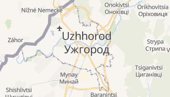 Uzhgorod online map