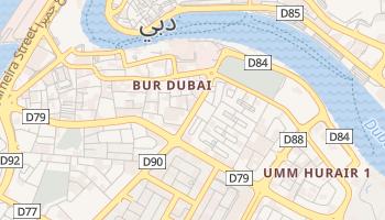Bur Dubai online map