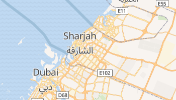 Sharjah online map