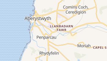 Aberystwyth online map