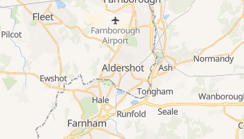 Aldershot online map