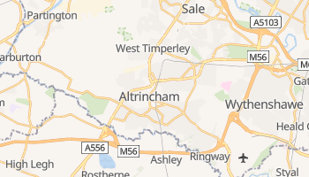Altrincham online map