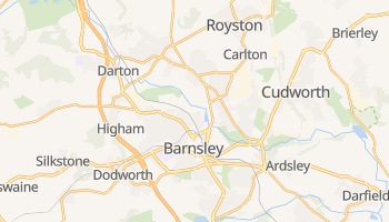 Barnsley online map