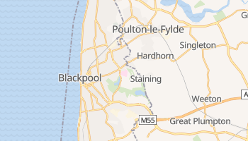 Blackpool online map