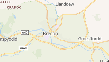Brecon online map