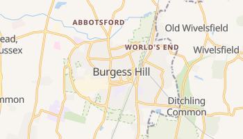 Burgess Hill online map