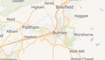 Burnley online map