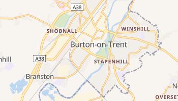 Burton Upon Tren online map