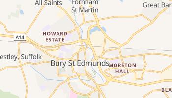 Bury St Edmunds online map