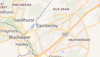 Camberley online map