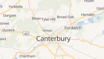 Canterbury online map