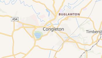 Congleton online map