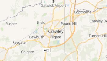 Crawley online map
