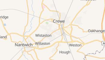 Crewe online map