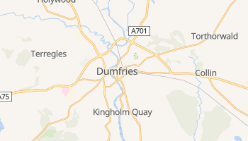 Dumfries online map