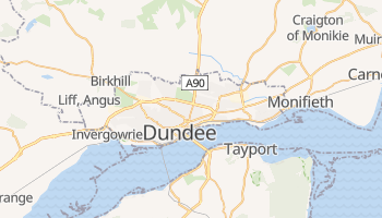 Dundee online map
