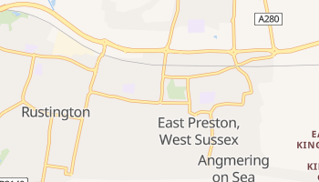 East Preston online map