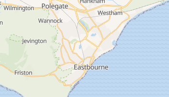 Eastbourne online map