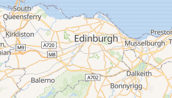 Edinburgh online map