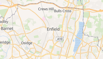 Enfield online map