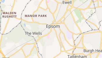 Epsom online map