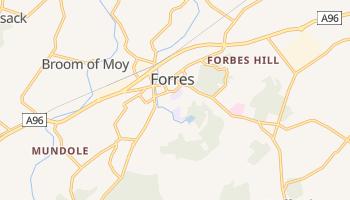 Forres online map